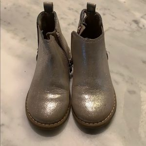 Pewter toddler boots